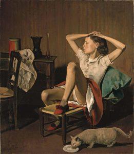 Balthasar Klossowski de Rola Painting