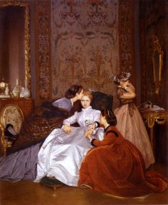 Auguste Toulmouche Painting
