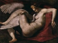 Leda and Swan by Michelangelo