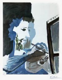 The Painter by Pablo Picasso